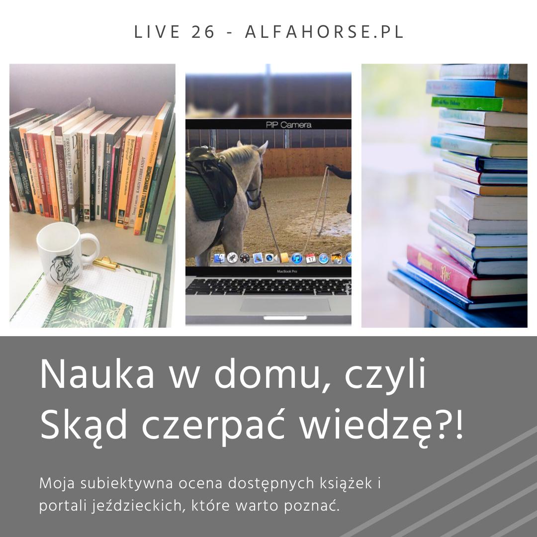 nauka_dom_konie_trening_ksiazki_portale